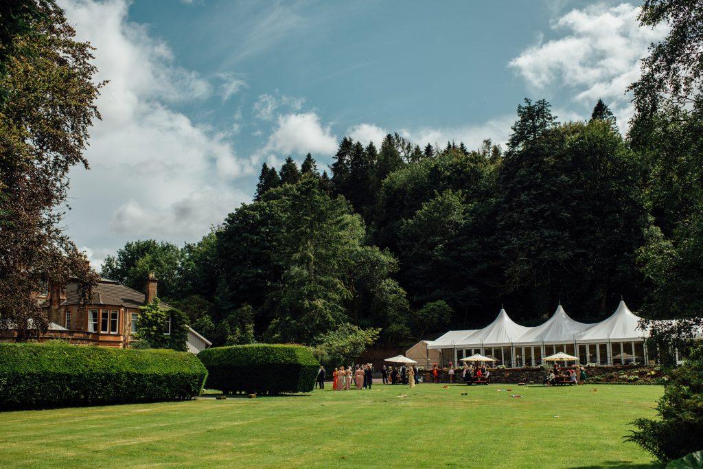 Marquee Hire Dumfries | Weddings & Parties | Mabie House Hotel
